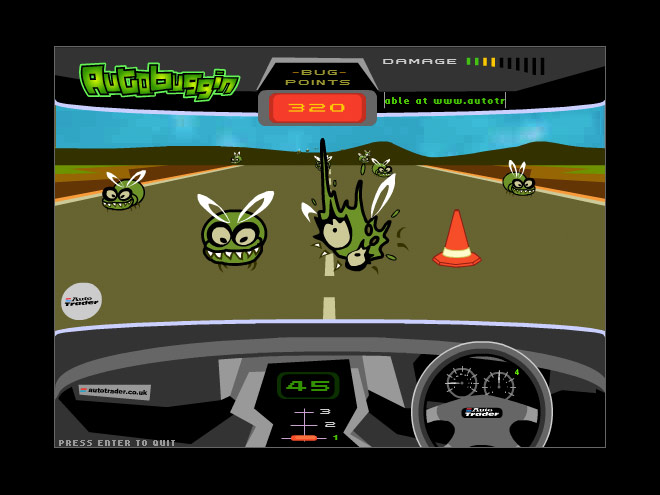 Autobuggin gameplay
