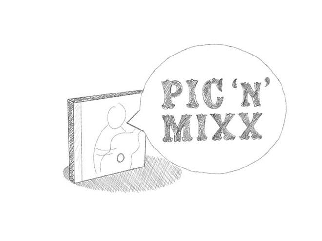Pic 'n' Mixx idea one, a talking CD!