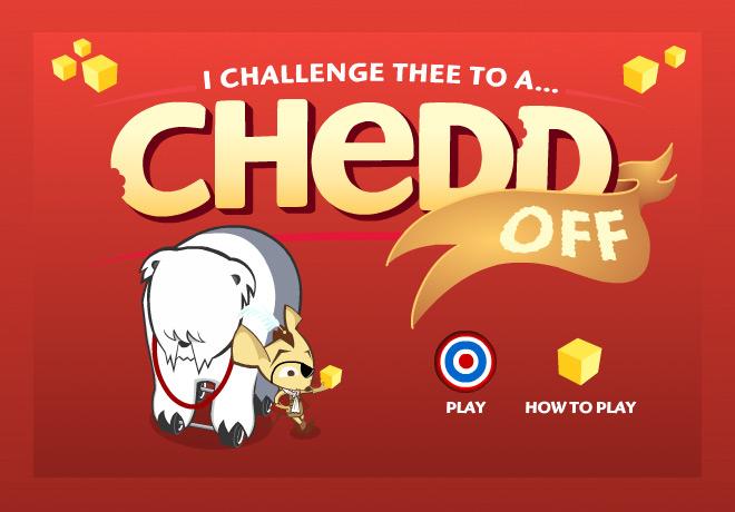 CheddOff title screen