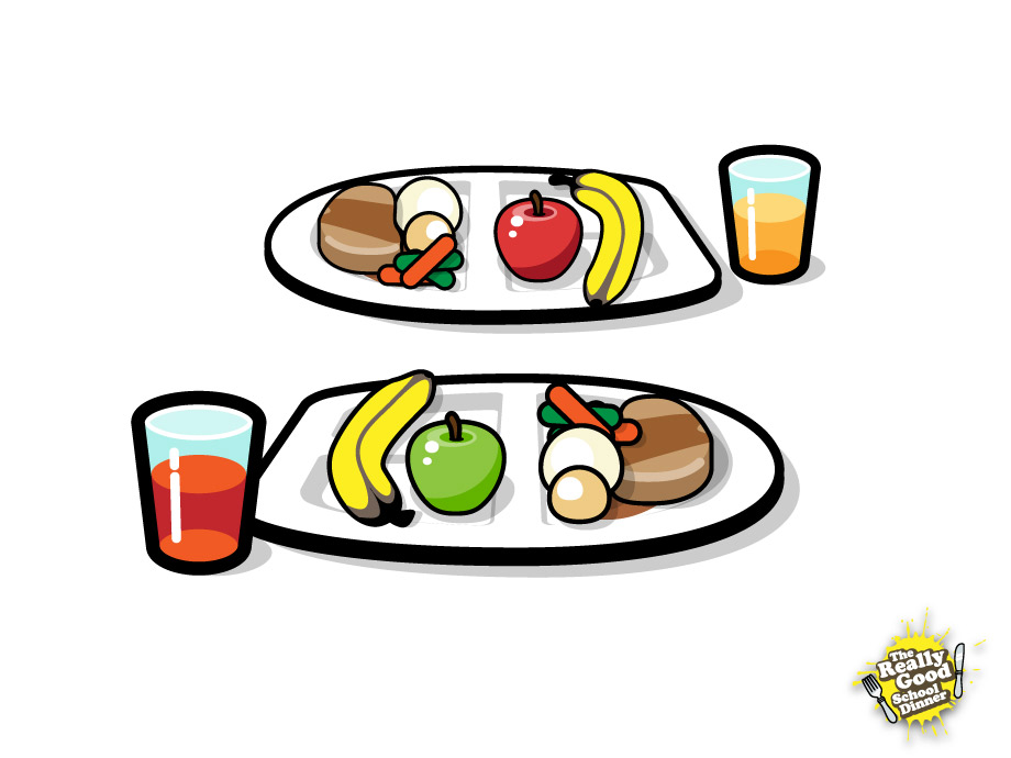 Meal trays for the virtual dining hall