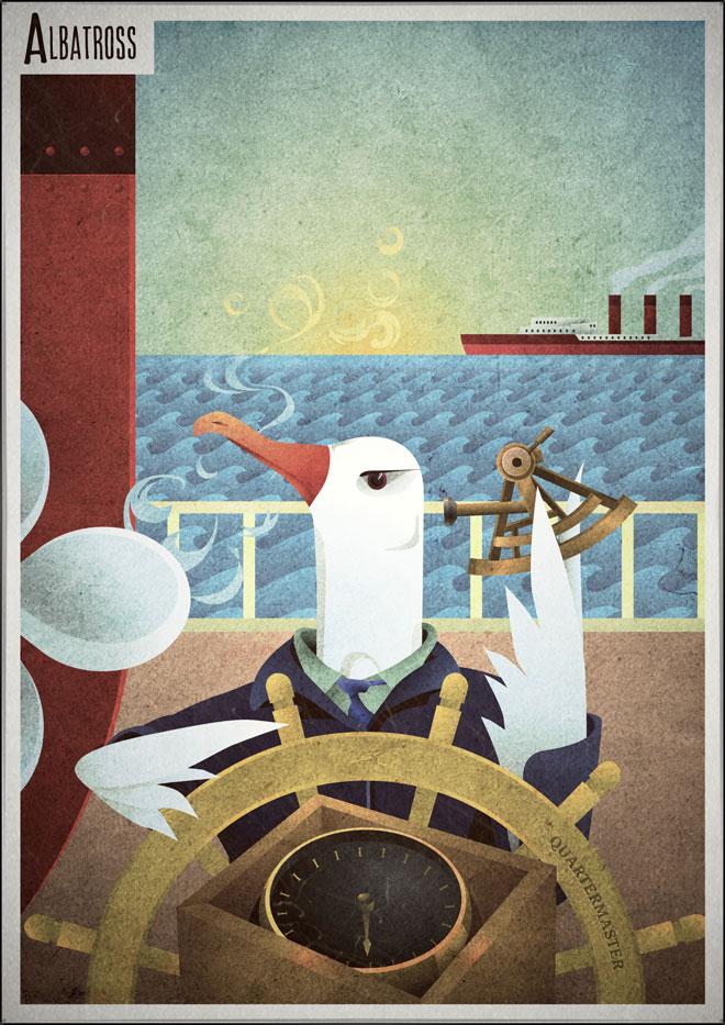 Albatross Quatermaster poster